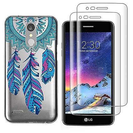 Amazon com: (3 in 1) for LG Aristo, LG Phoenix 3, LG K8 2017