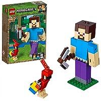 Lego - Minecraft Papağanlı Bigfig Steve (21148)