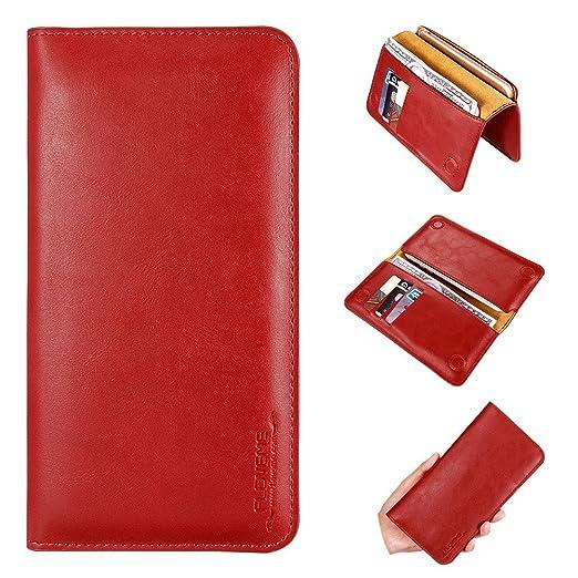 33 opinioni per FLOVEME Cover Portafoglio in Pelle Porta Carta di Credito Custodia per iphone