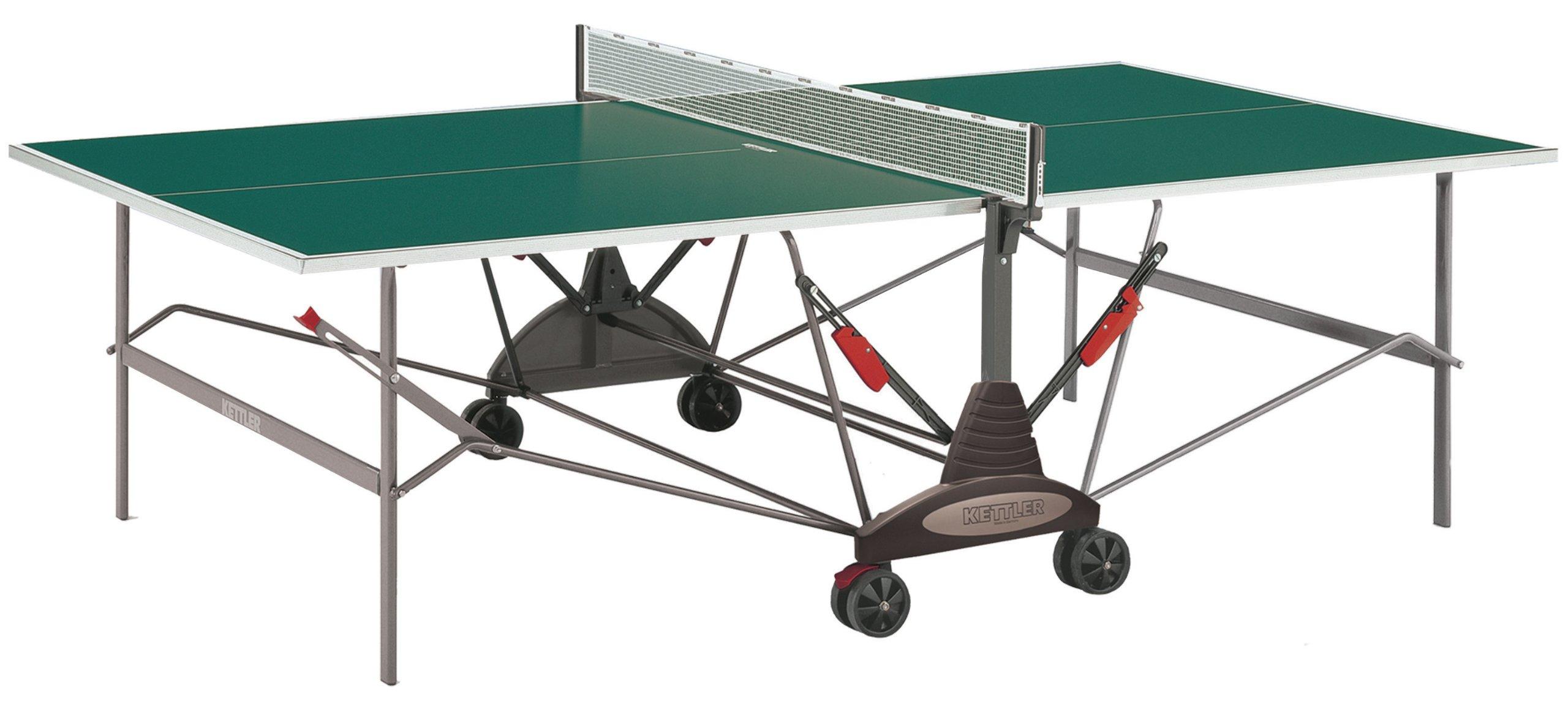 Kettler Stockholm GT Institutional/Tournament Indoor Table Tennis Table, Green Top