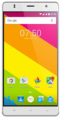 """Zopo Color F2 - 4G VoLTE (White, 2GB RAM + 16 GB ROM, 5.5"""" HD IPS, Multi function fingerprint Scanner, 365 Days Replacement Warranty) Smartphones at amazon"""