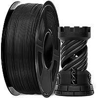 PLA Carbon Fiber 3D Printer Filament, SUNLU PLA Carbon Fiber Filament 1.75 mm, 3D Printing Filament Low Odor Dimensional…