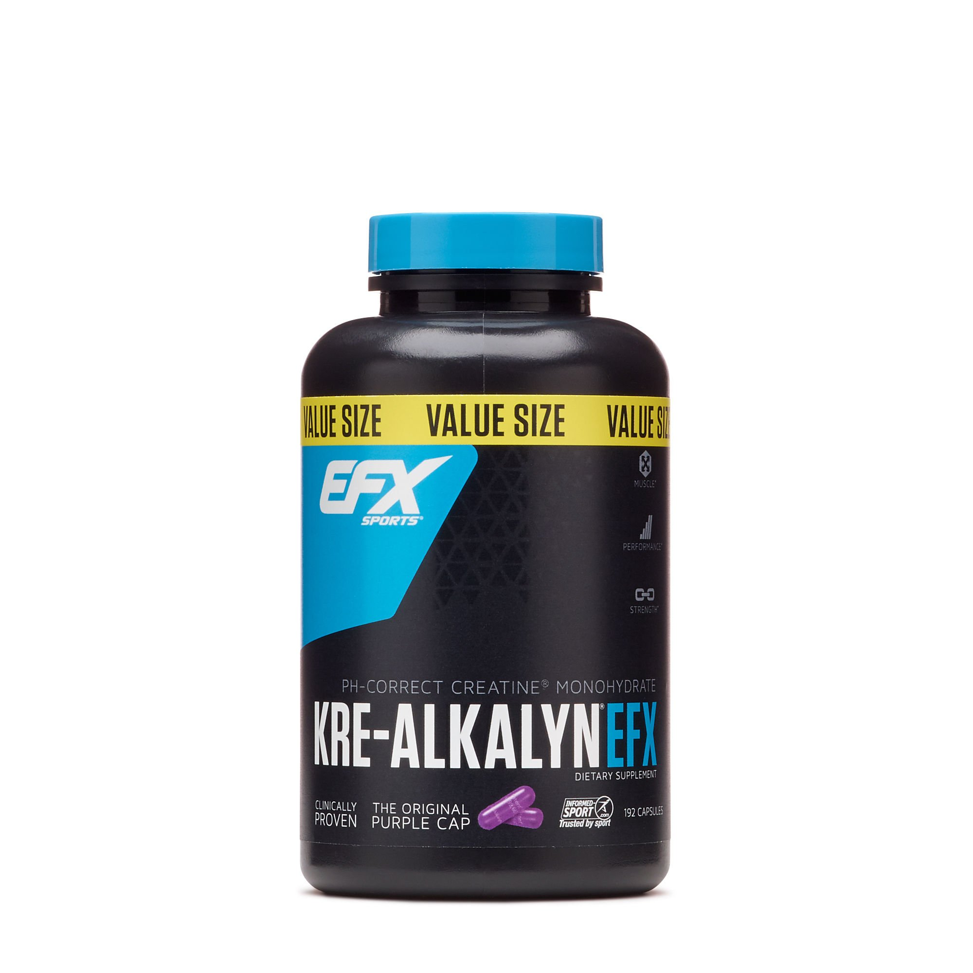 All American EFX Kre-Alkalyn for Muscle Growth Performance - 20 More Free, 192 Total