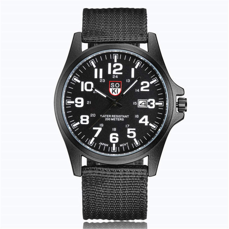 Amazon.com : SUPERON Mens Watches top Luxury Couple Fashion ...