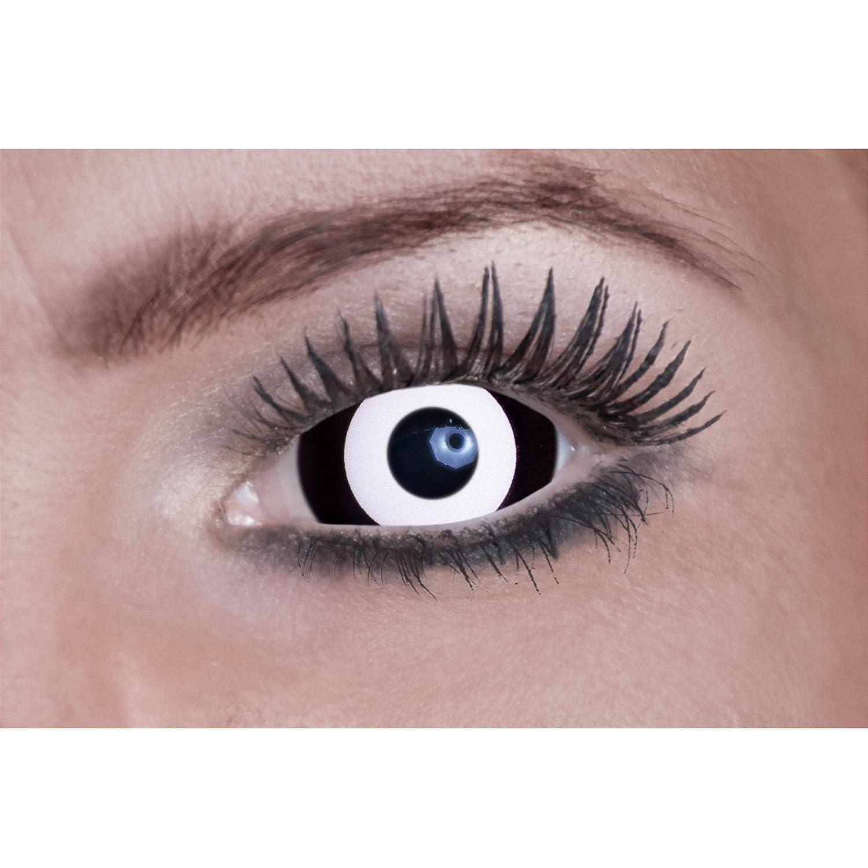los últimos modelos Promoción por por por tiempo limitado Lentillas fantasia ojo negro y blanco adulto  promocionales de incentivo