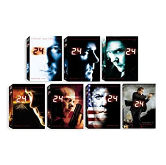 Amazon com: 24: Complete Seasons 1-7: Kiefer Sutherland