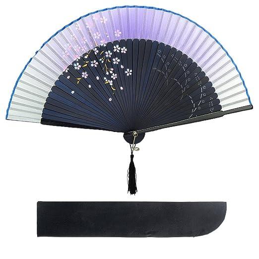 12 opinioni per Sevada cinese giapponese pieghevole Danza Ventaglio con il quadro in bambù &