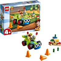 LEGO 10766 4+ Toy Story 4 Woody and RC Set with Minifigure, Multicolour