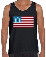 Awkward Styles Men's American Flag Tank Tops USA Flag Patriotic