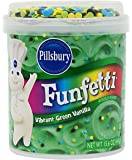 Pillsbury Funfetti Happy Birthday! Vibrant Green Vanilla Frosting 15.6 oz