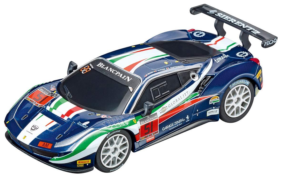 Analog Slot Car Racing Vehicle - 64115 Ferrari 488 GT3 AF Corse, No. 51