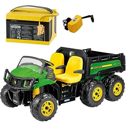 Peg Perego Ride On Toys >> Amazon Com Peg Perego John Deere Gator Xuv 6x4 Ride On With