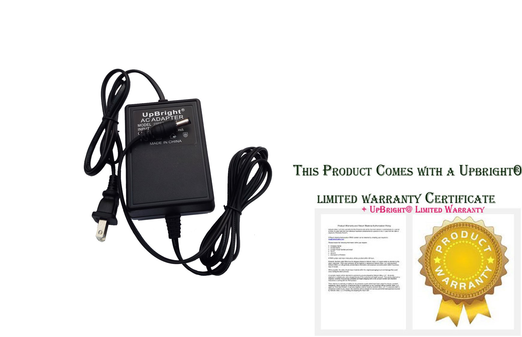 UpBright NEW AC Adapter For PreSonus TUBEPre Microphone Acousti-Q Studio Channel Tube Preamp 1st Version V1 Ver1 Pre Sonus TUBE Pre AcoustiQ CH Preamplifier Stereo Tube Preamp 16V - 18V Power Supply