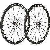 VCYCLE 700C Bici da Corsa Carbonio Route Tubolare 38mm Shimano 8/9/10/11 Velocità Disponibile Solo 1170g