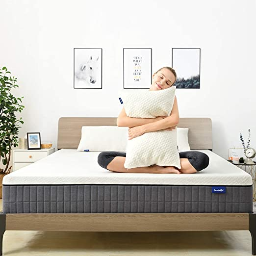 Amazon.com: King Mattress,Sweetnight 12 Inch King Size Mattress in ...