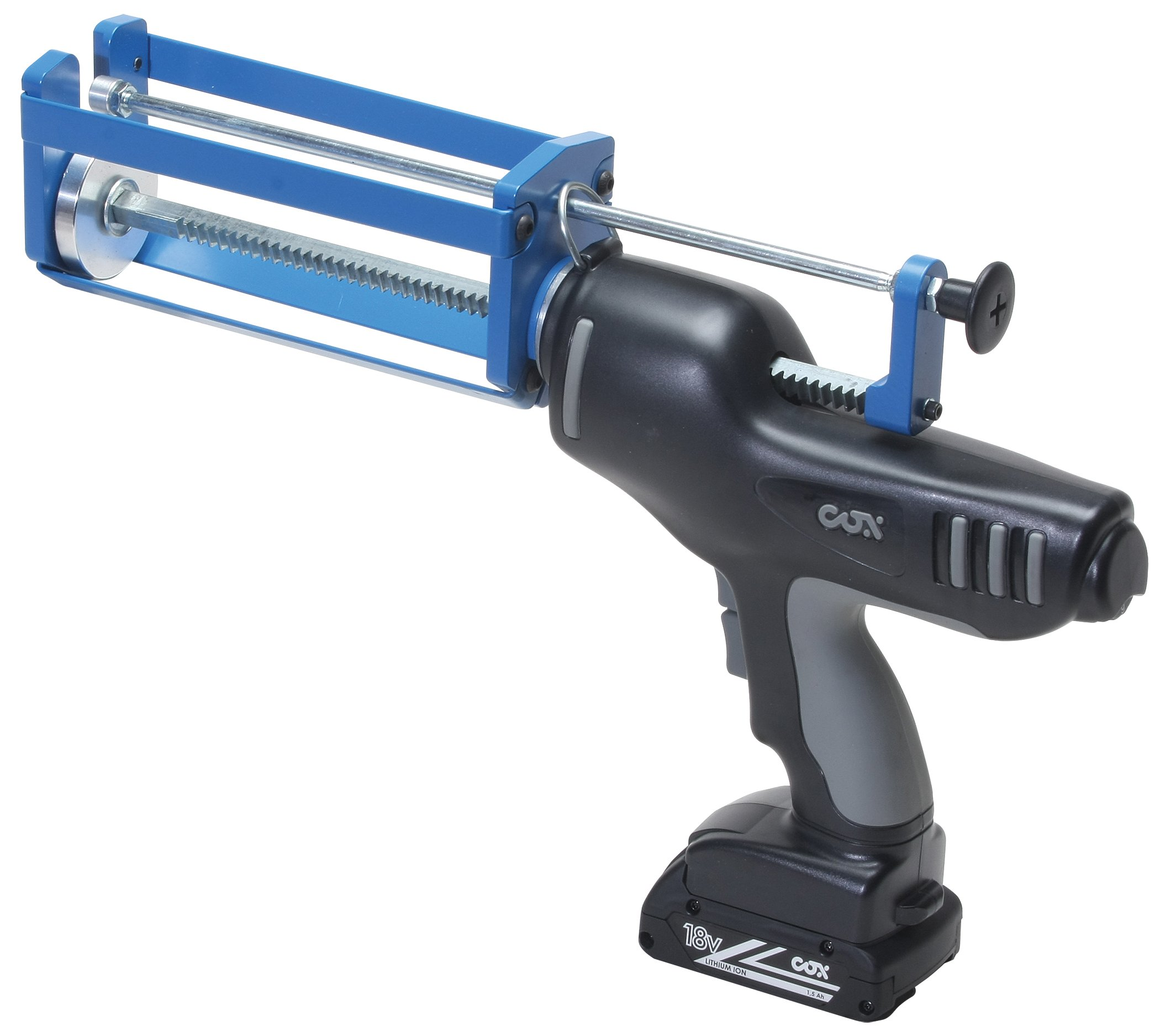 COX 80400 Cordless 400 ml. Total System 1:1, 2:1, 4:1 & 10:1 Mix Ratios 18-Volt Battery Operated Epoxy Applicator by COX