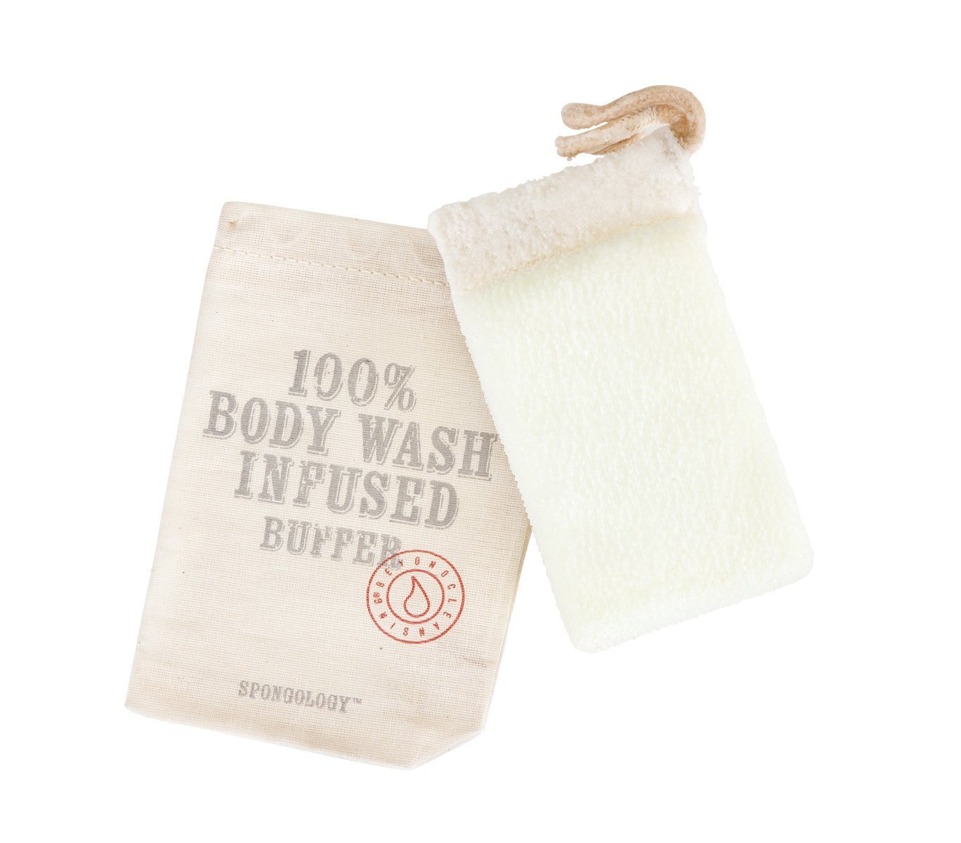 Wash Infused Body Buffer - Milk & Honey by Spongelle