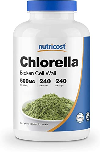 Nutricost Chlorella Capsules 500mg