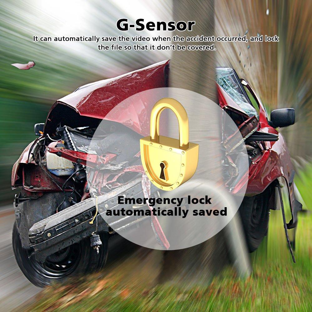 KKmoon Anti Radar Detector Car DVR 2 in 1 720P Dash Cam Radar Speed Detector with Full Band Mute Button Loop Recording G-Sensor