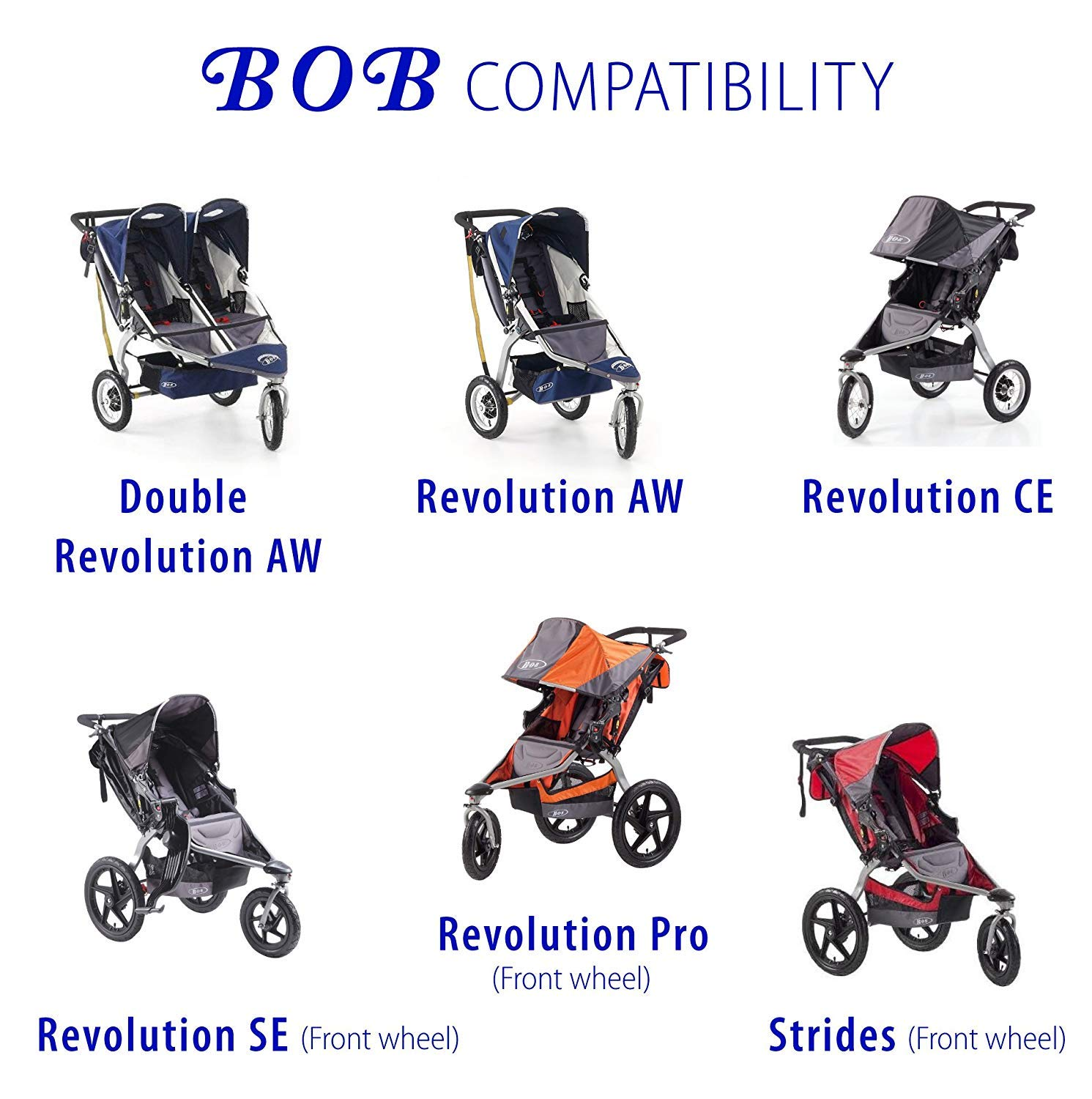 Blaze Childrens Jogger Strollers Pneumatic tires 12 16 ...