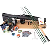 M MAXIMUMCATCH Maxcatch Premier Fly Fishing Rod and Reel Combo Complete 9' Fishing Outfit