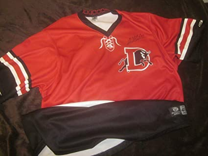 info for 268cf 2cac1 2018 Durham Bulls Game Used Jersey Hurricanes Night #24 ...