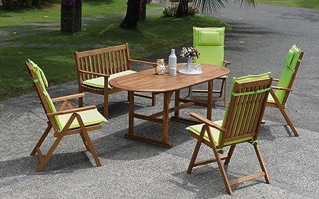 Unbekannt \'Set di mobili da giardino Ancona: Amazon.it: Giardino e ...