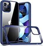 Case for iPhone 12/12 PRO/12 PRO MAX/12 MINI - Hard Transparent Back - Flexible Frame - High Protection - Thin and…