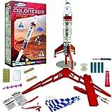Estes Destination Mars Colonizer Model Rocket Starter Set - Includes Rocket Kit (Beginner Skill Level), Launch Pad…