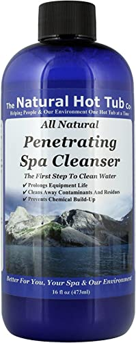 The Natural Hot Tub Company Penetrating Spa Cleanser 16 Ounce Bottle