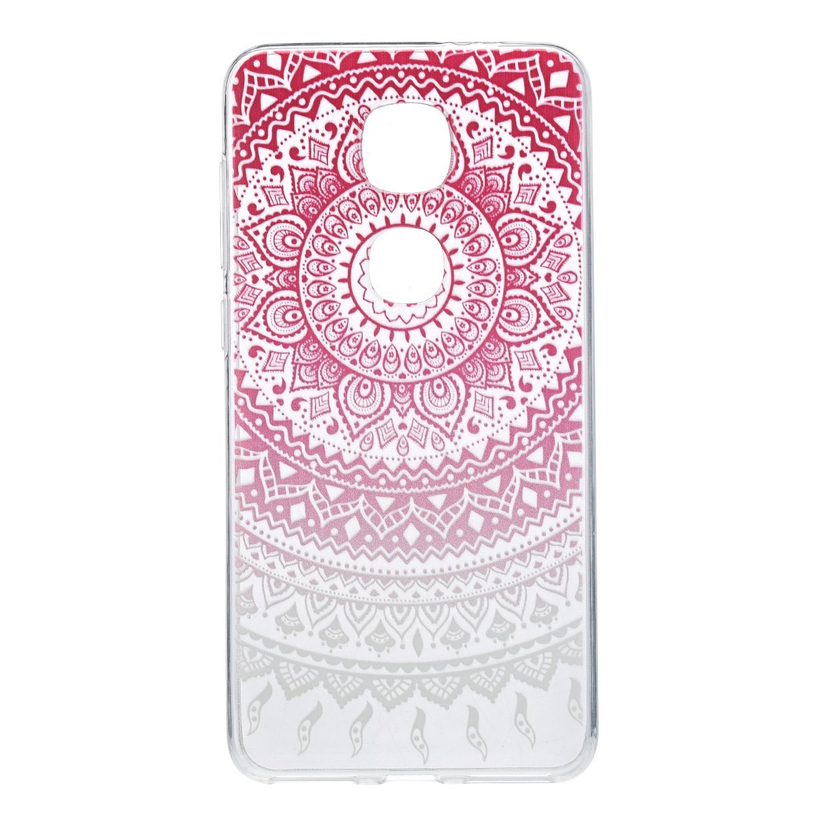 könig-shop Funda de móvil schutz-cover Carcasa Estuche - India Sol Rosa Blanco Transparente, Apple i...
