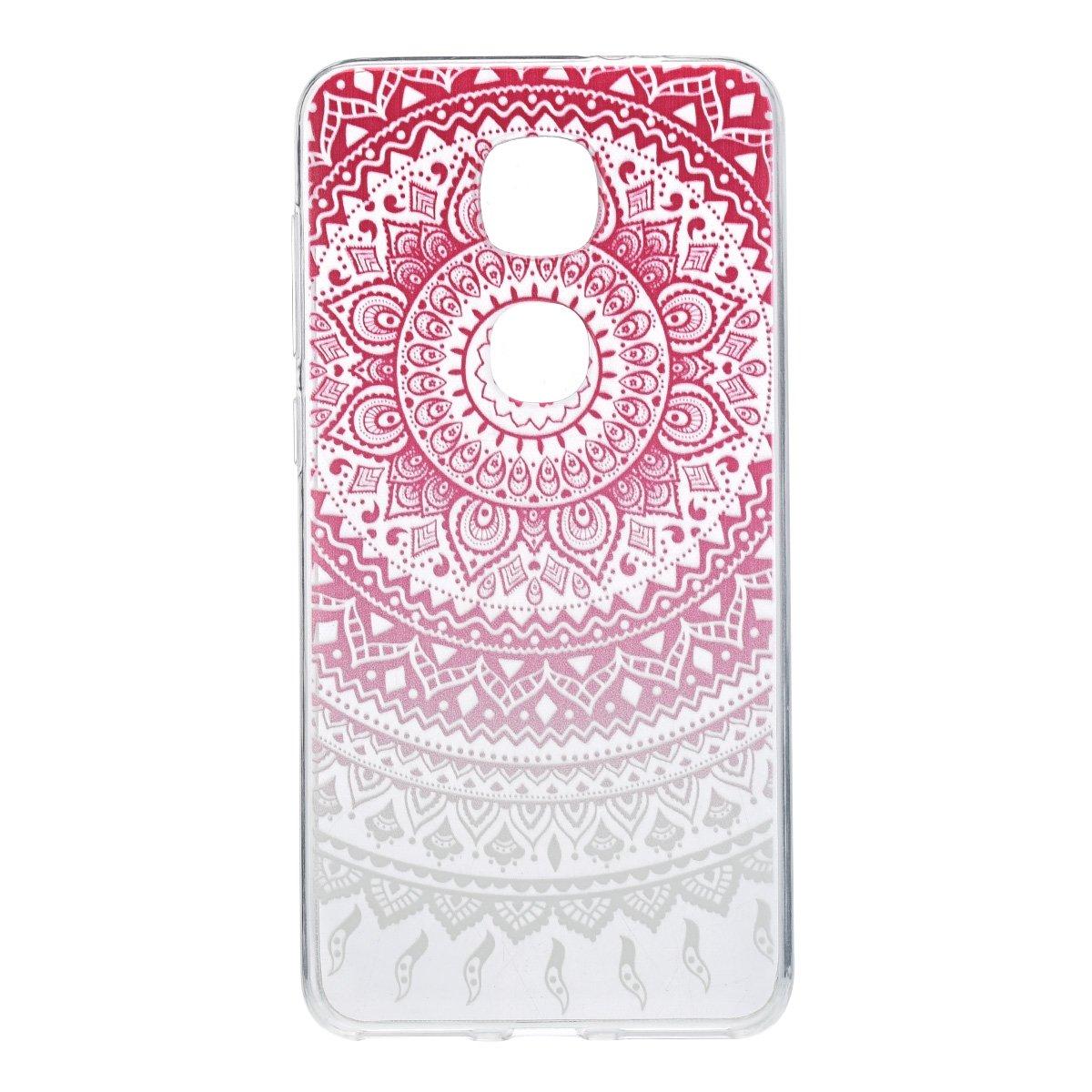 könig-shop Funda de móvil schutz-cover Carcasa Estuche - India Sol Rosa Blanco Transparente, Samsung...