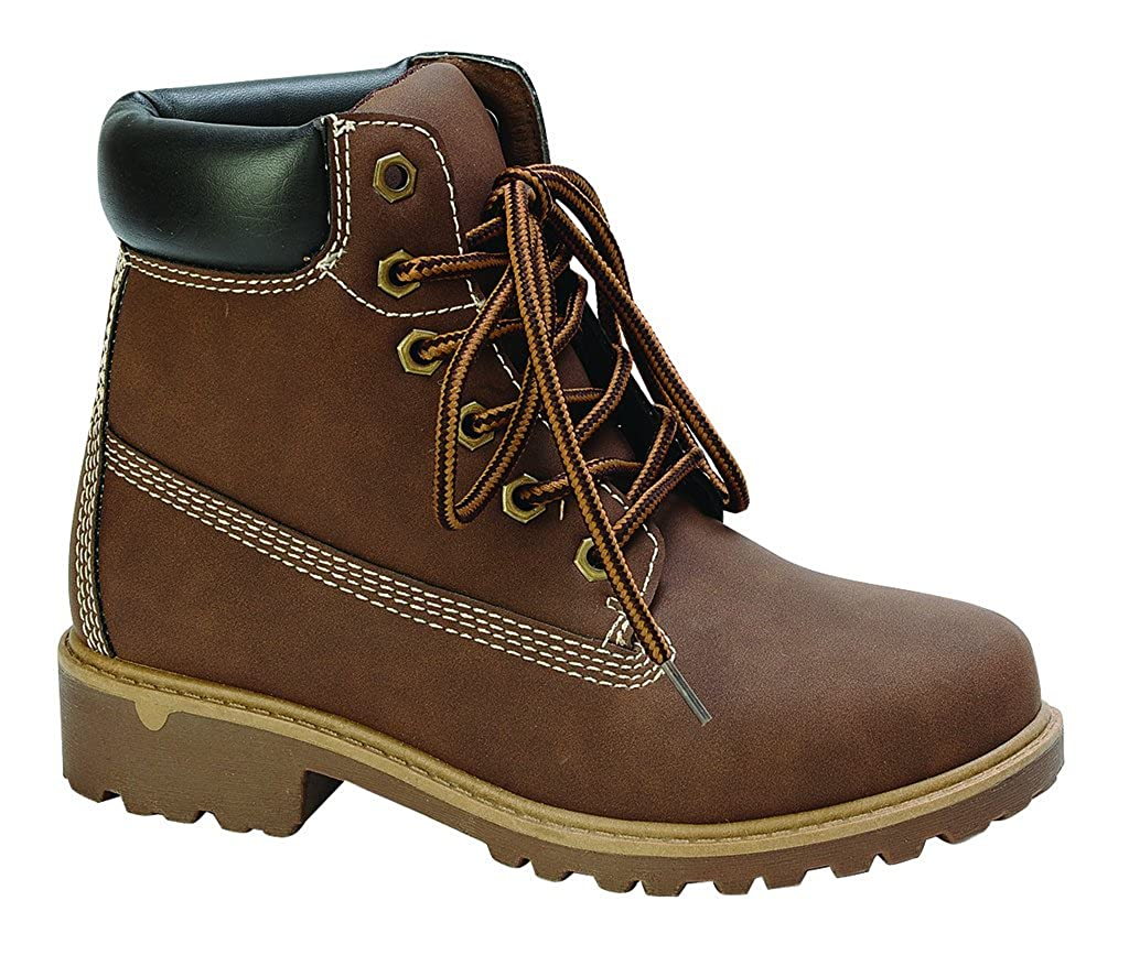 Nature Breeze Terrain-01 II Boys and Girls Lace Up *Kids Winter Ankle Boots* Leatherette Bootie