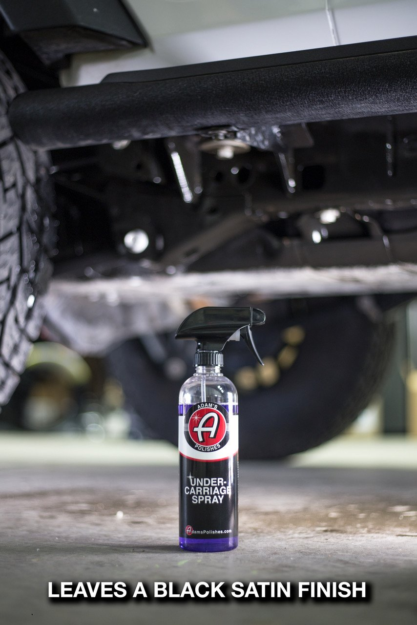 Adam's Invisible Undercarriage Spray - Quick and Easy to Use - Turn Your Wheel Wells Invisible - Leaves a Black Satin Finish (5 gallon) by Adam's Polishes (Image #4)