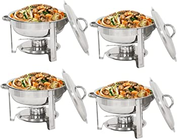 SuperDealUsa Polished Chafing Dish