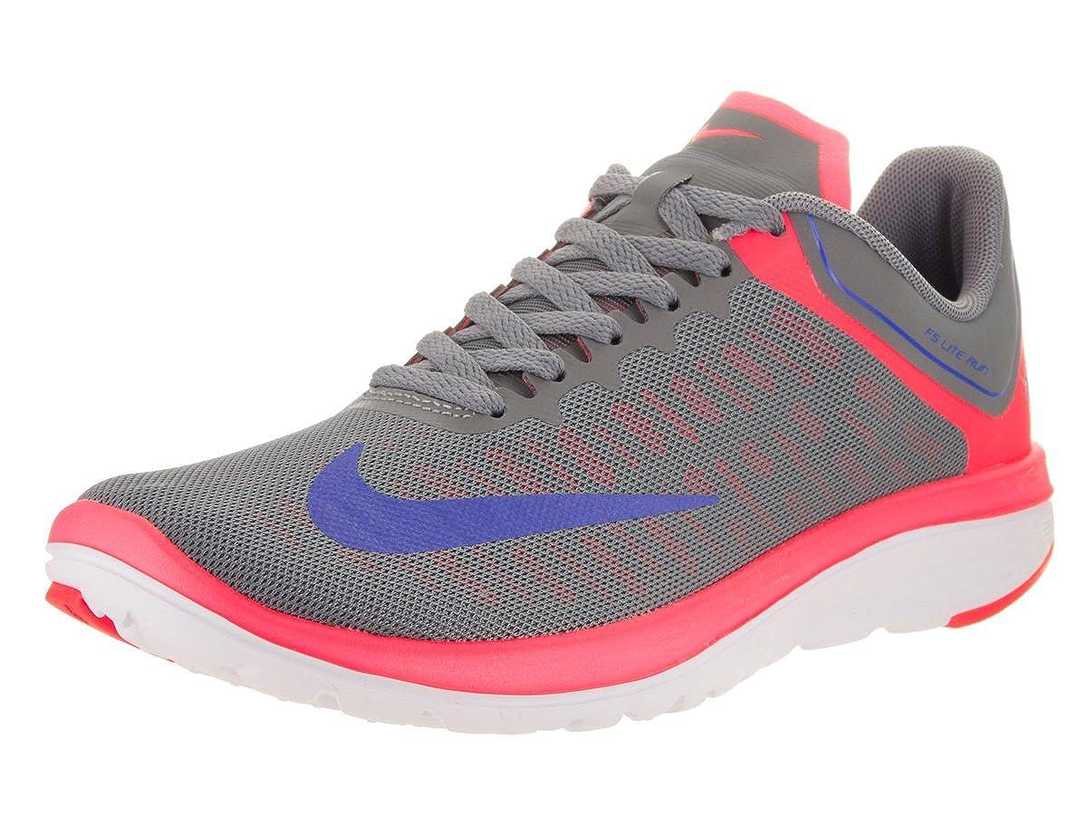 100% authentic 87a4a 1204e Nike Women s FS Lite Run 4 Running Shoe Cool Grey Medium Blue Hot  Punch White 8 B(M) US  Amazon.in  Shoes   Handbags