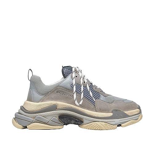 sneakershop Balenciaga Triple-S Sneaker - Zapatillas para Mujer Gris Gris Gris Size: 38 EU: Amazon.es: Zapatos y complementos