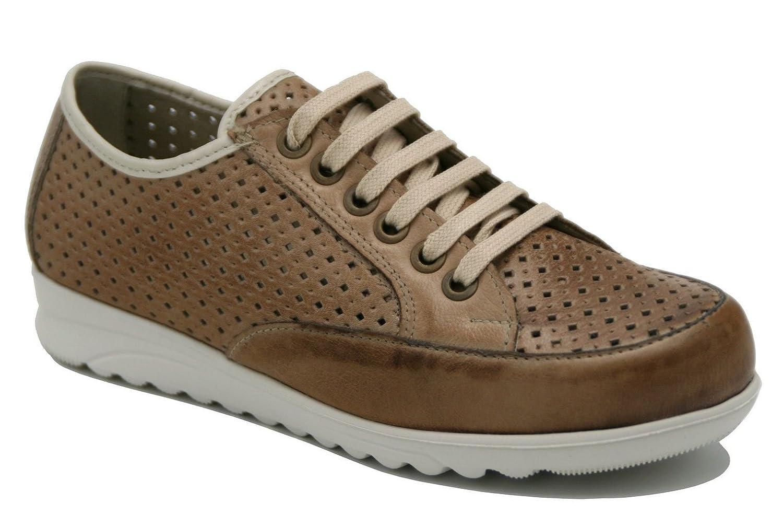 PITILLOS Zapato Cordones Calado 2712 38 EU Marrón