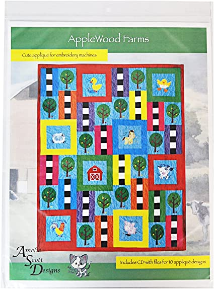 Amelie Scott Designs ASD236 Custom Quilting On Your Embroidery Machine Book