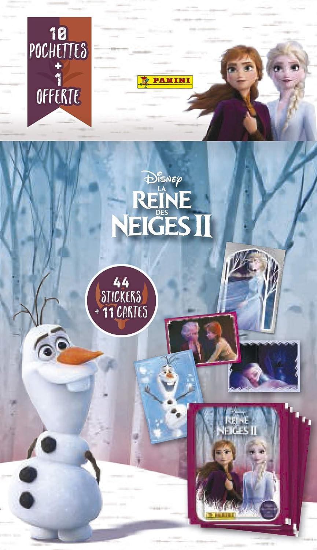 Panini France SA-Le Blister 6 H/üllen Frozen 2 Movie 2019 2533-038