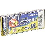 東芝 アルカリ乾電池 単4形1パック10本入  LR03L 10MP