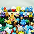 24 different Pokemon figures in the set 1-3 cm COLLECTIONS - perfect for advent calendar for filling Mini Monster Pokemon GO Pikachu Anime Manga Comic thematys®
