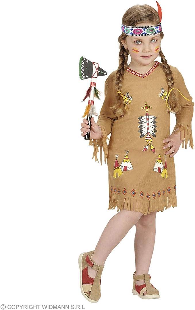 WIDMANN Desconocido Disfraz de india para niña: Amazon.es ...