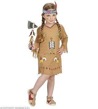 41520f85860b0 WIDMANN Desconocido Disfraz de india para niña  Amazon.es  Juguetes y juegos