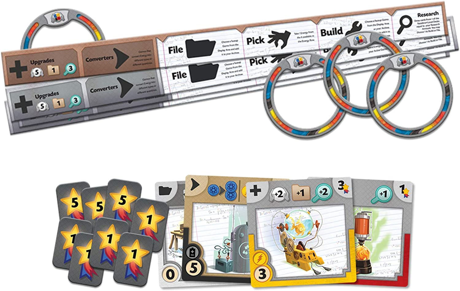 Board Game New Gizmos 2nd Edition