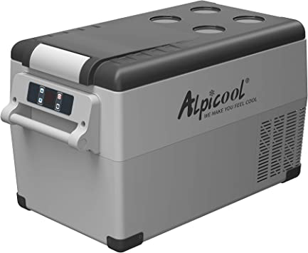 Camping Alpicool CF35 35 Litros Nevera Port/átil El/éctrica Refrigerador de Coche 12V 24V mini frigor/ífico CA 220v para Hogar 20/ºC a 20/ºC Autom/óvil Viajes