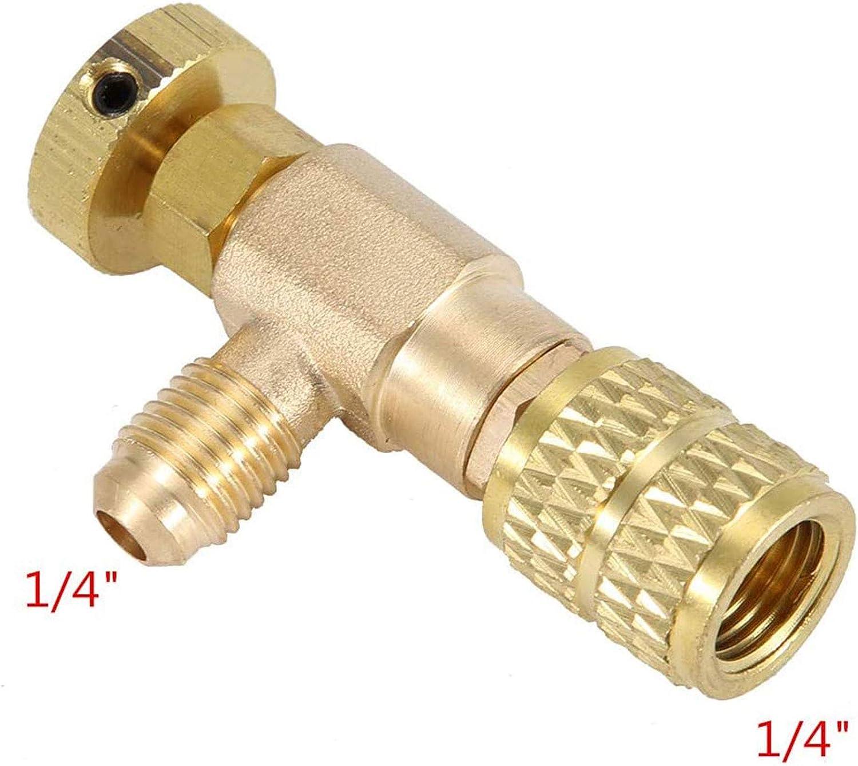 2 St/ücke Adapter f/ür K/ältemittel-Regelventi Klimaanlage Ventil Klimaanlage Adapter Klimaanlage R410A R22 Verbindung Adapter K/ühlmittel Klimaanlage Adapter f/ür Klimaanlage Durchflussventile