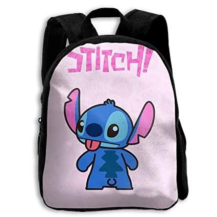 Image Unavailable. Image not available for. Color  CHLING Kids Backpack  Stitch Print Childrens School Bag Teenager Bookbag for Boys Girls 2c7f21a6c7bcc