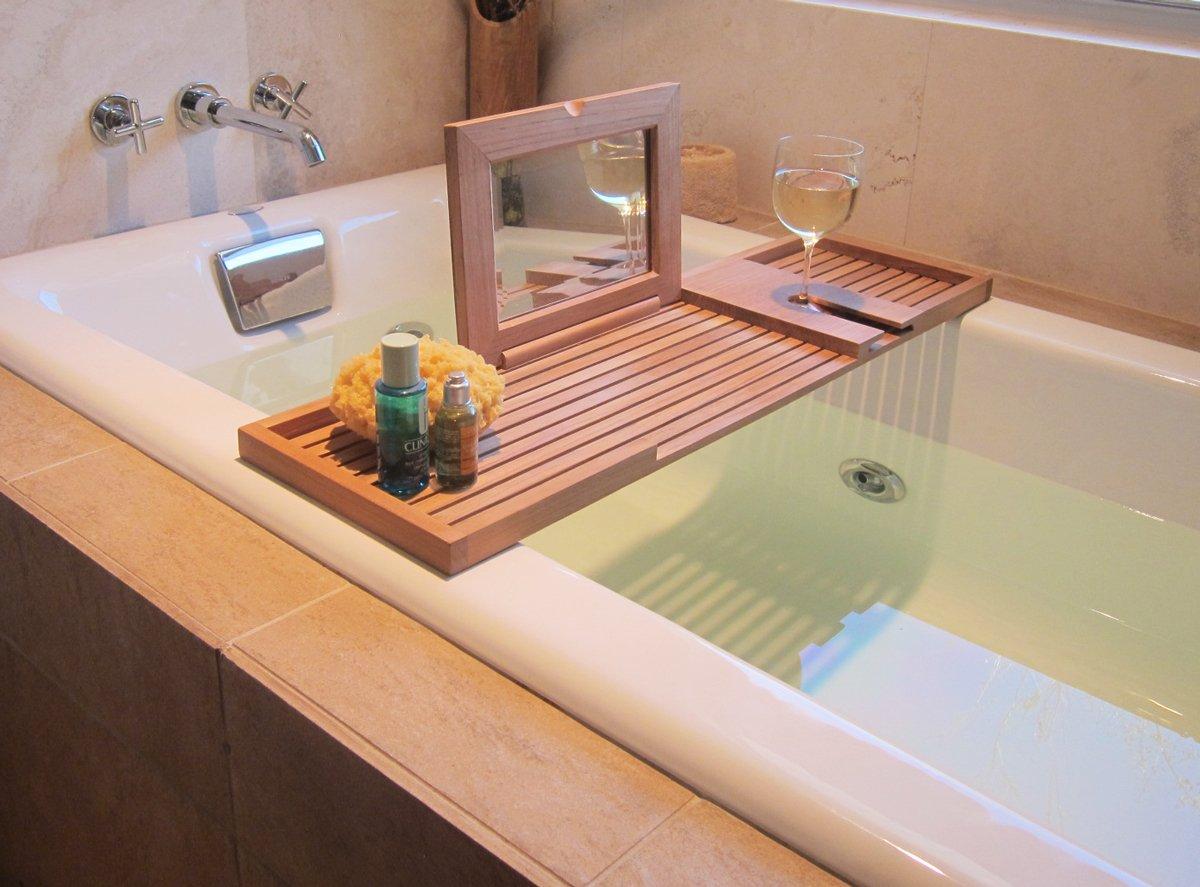 Pacifica Bathtub Tray