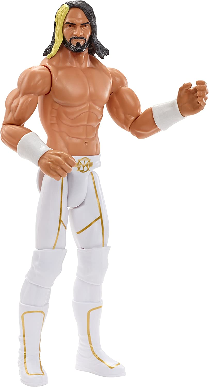WWE Figura de acción grande 30cm, luchador Seth Rollins (Mattel DXR08)